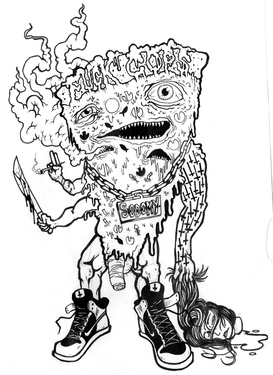 coloring pages of homies - photo#16